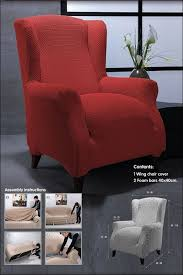 Strandmon Wing Chair Assembly by Wingback Slipcovers