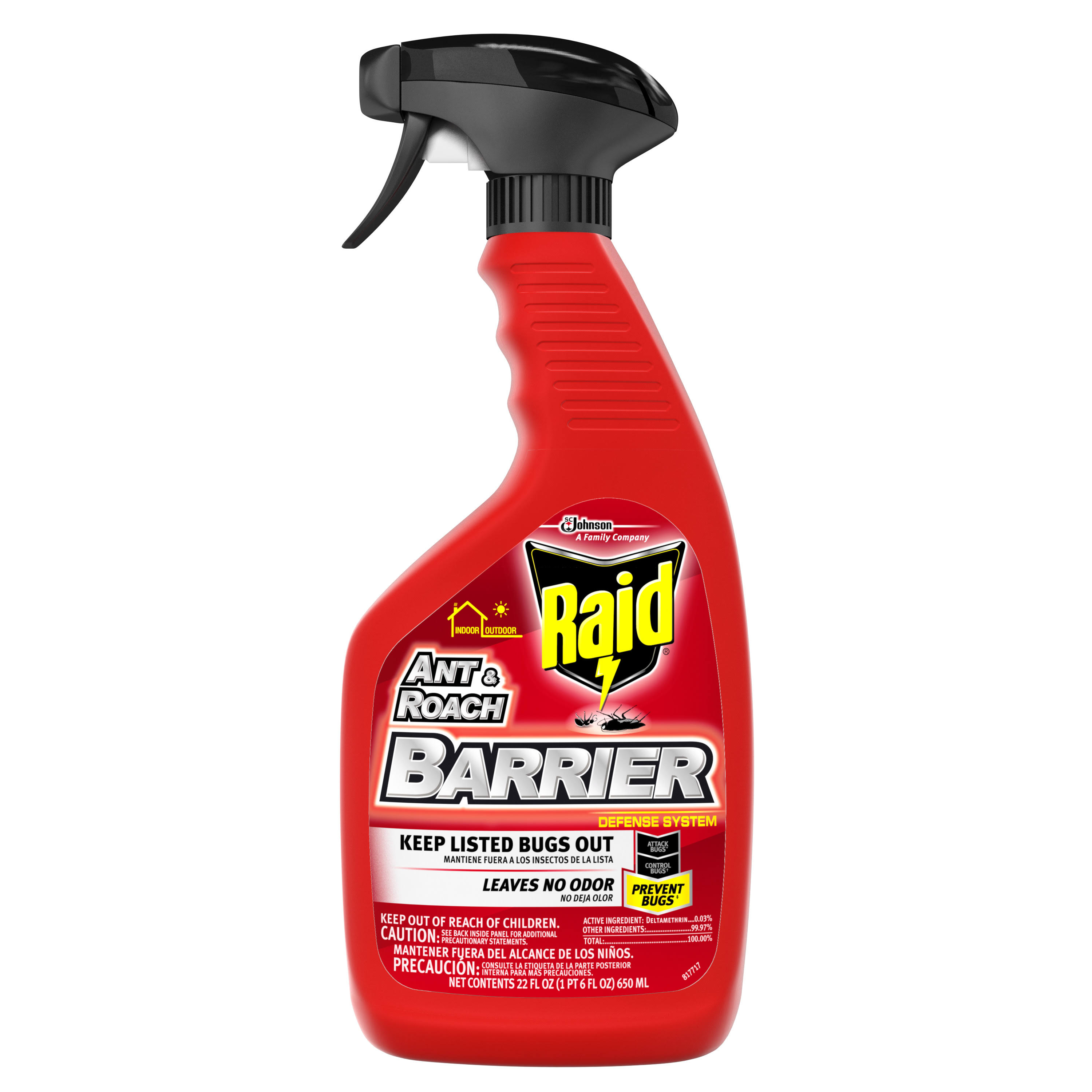Raid Ant and Roach Barrier - 22oz