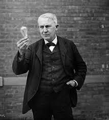 edison light bulb facts iron