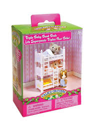 Shop Calico Critters Triple Baby Bunk Bed Set Online In ... Sylvian Families Baby High Chair 5221 Epoch Calico Critters Baby Tree House Accessory Set Doll Cheap Find Deals On Line At Red Roof Cozy Cottage Complete With Figure And Accsories Seaside Tasure Fence Main Door Flora Berry Get Ready For Bed Furbanks Squirrel Girl Bamboo Panda Pizza Delivery Luxury Townhome Deluxe Nursery Cf1554 Sophies Love N Care