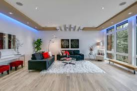 living room led lighting modern living room seattle by