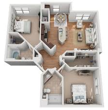 104 Two Bedroom Apartment Design Floor Plans Mockingbird Flats S In Dallas Tx