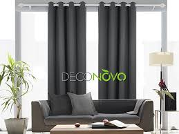 Sound Reducing Curtains Amazon by Amazon Com Deconovo Thermal Insulated Blackout Curtain For