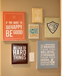 Wall Art Ideas Design DIY Printable Quote Decorations Hanging Wooden Canvas Laminated White Text Sayings Words