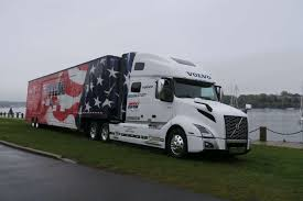 100 North American Trucking Volvo VNL 760 Given To Americas Road Team By Volvo Trucks