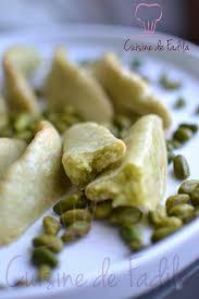 cake a la pate de pistache corne de gazelle marocaine à la pâte de pistache kâab ghzal