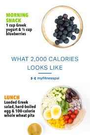 See What 2000 Calories Of Healthy Nutrient Rich Meals And Snacks Looks Like