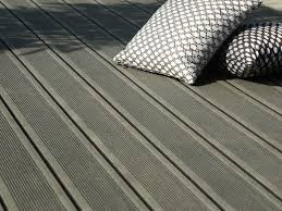 Engineered Wood Decking GROOVED ELEGANCE DECK BOARD By Silvadec