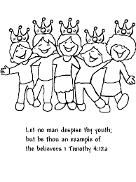 Let No Man Despise Thy Youth But Be Thou An Example Of The Believers 1 Timothy