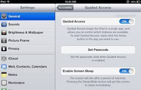 "Enable ""Kid Mode"" on iPad iPhone or iPod touch with Guided"