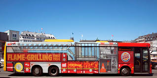 100 Fire Trucks Unlimited A Bus Becomes A Burger King Truck In This Perfectly Branded