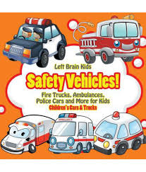 Safety Vehicles! Fire Trucks, Ambulances, Police Cars And More For ...