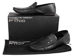 PORSCHE DESIGN Black P 1700 Cannes Moccasin Formal Shoes Size US