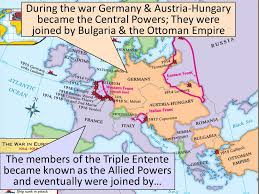 Where Did The Lusitania Sink Map by Text From 1914 To 1919 World War I Erupted In Europe Ppt Video