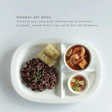 r lette cuisine snp headquarter lunch set of the day lunch set