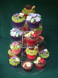 English Country Garden Cupcakes Calendar Cakes