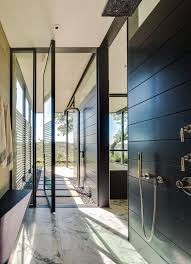outdoor shower heads bathroom contemporary with marble