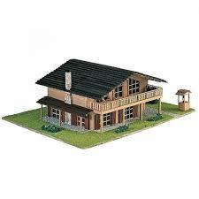 chalet de montagne en kit maquette a monter en bois chalet de montagne francis miniatures