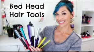 Bed Head Hair Crimper by 3 Bed Head Hair Tools Crimper Waver Straightener Youtube