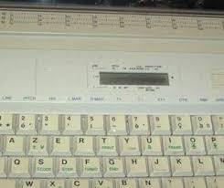 histoire de mes machines à écrire
