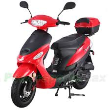Taotao ATM50 A1 50cc Moped Scooter With 10 Wheels Electric Kick Start Rear Trunk Great Deal