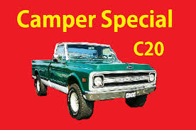 Classic C20 69 Chevrolet C/K Camper Special Video GMC Action Line ...