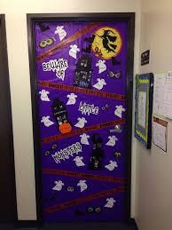 Halloween Classroom Door Decorations by 20 Best Halloween Door Images On Pinterest Halloween Classroom