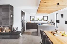 puristische offene küche mit bild kaufen 12353658