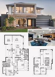 104 Contemporary House Design Plans 12 Two Storey With Floor Plan With Elevation Pdf Modern Floor Beautiful Projects Architecture