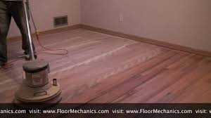 Square Buff Floor Sander by Hardwood Floor Refinishing Buffing Between Coats Of Finish Youtube