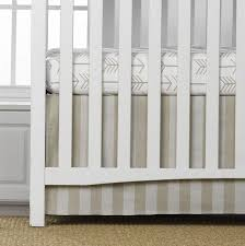 tan arrow 2 pc crib bedding set liz and roo