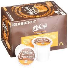 Mcdonalds Pumpkin Spice 2017 by Mccafe Pumpkin Spice Coffee K Cup Pods 12 Count Amazon Com