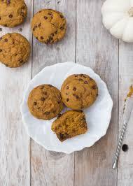 Cake Mix And Pumpkin Muffin Recipe by Healthy Kodiak Cakes Pumpkin Chocolate Chip Muffins Boys Ahoy