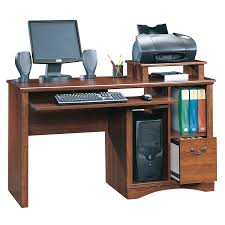 Staples Sauder Edgewater Desk by Furniture Computer Desks With Hutch Desks Amazon Sauder