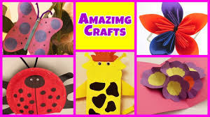 Amazing Arts And Crafts Collection Easy DIY Tutorials Kids Home Art Craft Ideas For To Do
