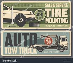 100 Truck Restoration Parts Car Repair Service Tire Mounting Maintenance Stock Vector Royalty