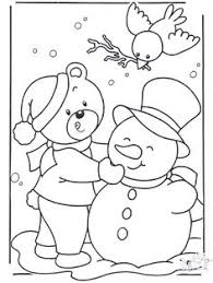 Coloring Page Winter Activity