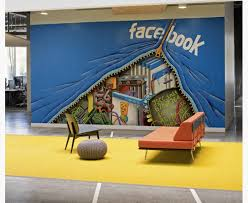 Facebook Office Wall Mural