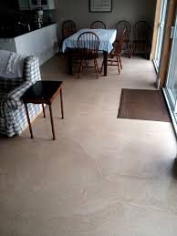 Kitchen Residential Concrete Flooring Self Leveling Portion Control Clark Nj