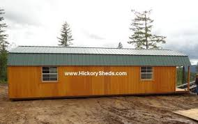 hickory sheds maine hickory sheds 14x40 lofted barn with the playhouse package