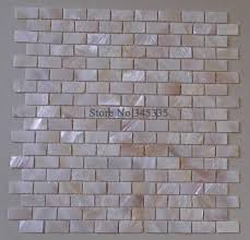 Mother Of Pearl Large Subway Tile by Brick Mother Of Pearl Shell Font B Mosaic Tile Kitchen Surripui Net