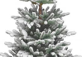7ft Artificial Christmas Trees Ireland by 4ft Snowy Imperial Blue Spruce Potted Feel Real Artificial