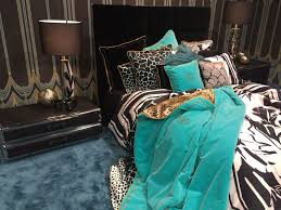Teal Turquoise Bedding Set