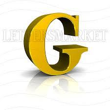 LettersMarket Royalty Free G