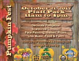 Spring Hope Pumpkin Festival Schedule by Pumpkin Fest At Pfaff Park U2014 What To Do In Southern Oregon