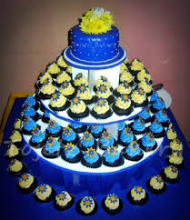 April And Marvins Wedding Cupcake Tower
