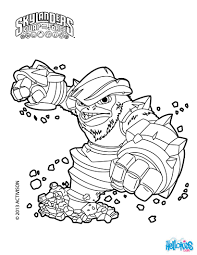 Grilla Drilla Coloring Page From Skylanders Swap Force Pages More Video Games Sheets