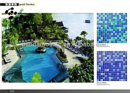 mb beautiful pattern glass mosaic for swimming pool tile dolphin