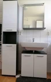 badezimmermöbel anthrazit weiß