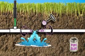 pvc pipe fix repair couplings tees sprinkler warehouse